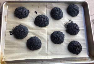 burnt cookie coals